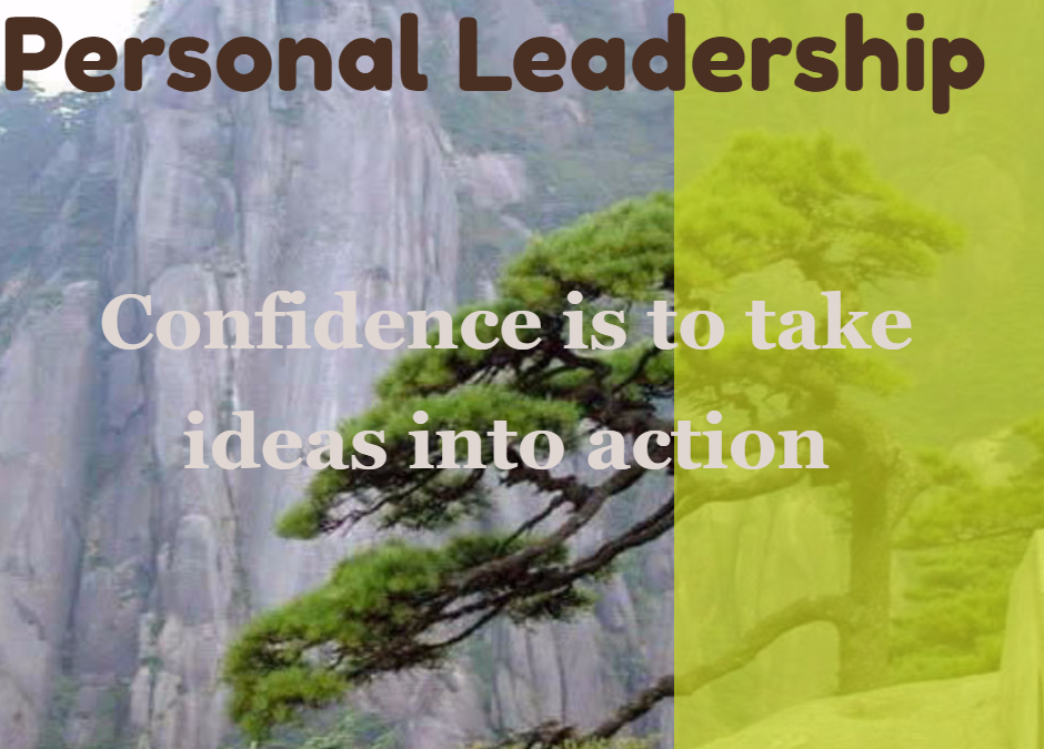 Personal leadership: Confidence
