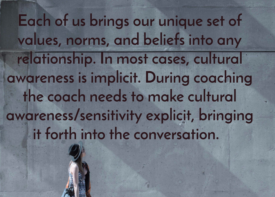 Culture an implicit factor in coaching?