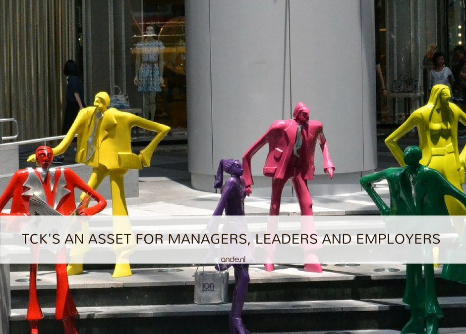 TCKs an asset for managers, leaders and employers