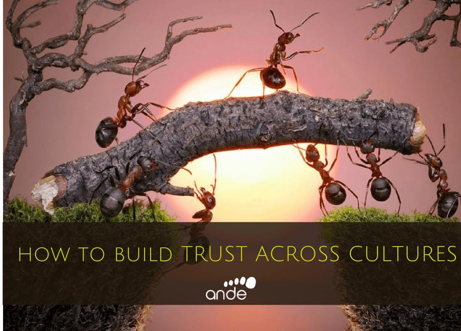 aNDE How to buil trust across cultures