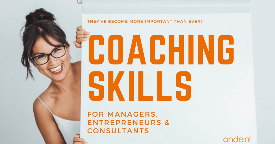 Coaching skills that Managers & Consultants need to have
